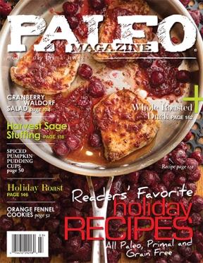 Paleo Magazine Readers' Favorite Holiday Recipes